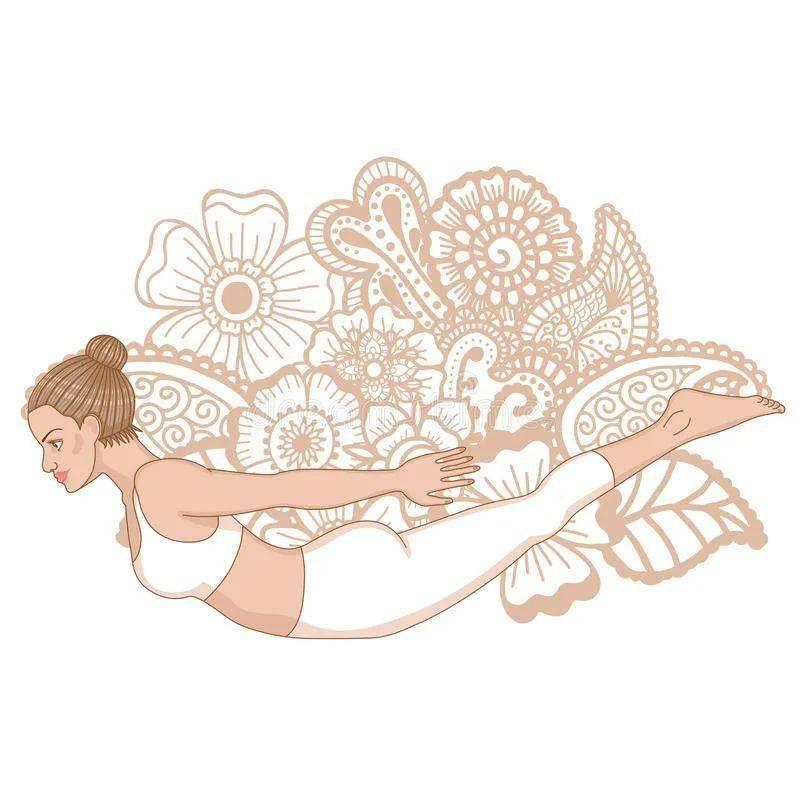 1个瑜伽体式每天练,增强核心改善体态,越练越优雅!_蝗虫 高级健身 第2张