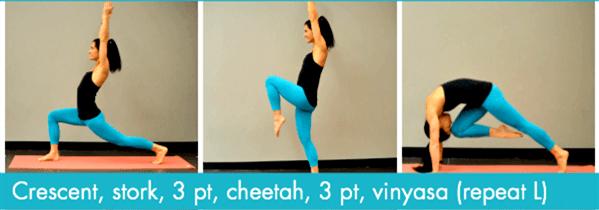 经络不通代谢慢?这套流瑜伽序列舒展全身,越练越年轻! 减肥窍门 第5张
