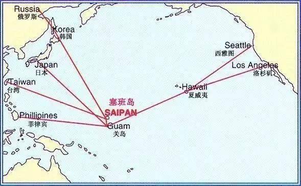 手绘亚洲地图简图