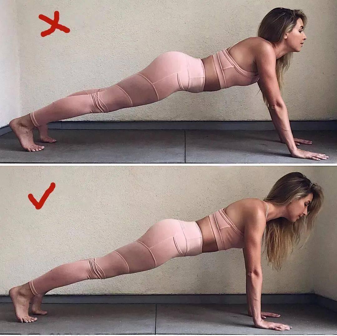 14个最常做错的瑜伽体式正误对比图,你做对了几个? 初级健身 第3张