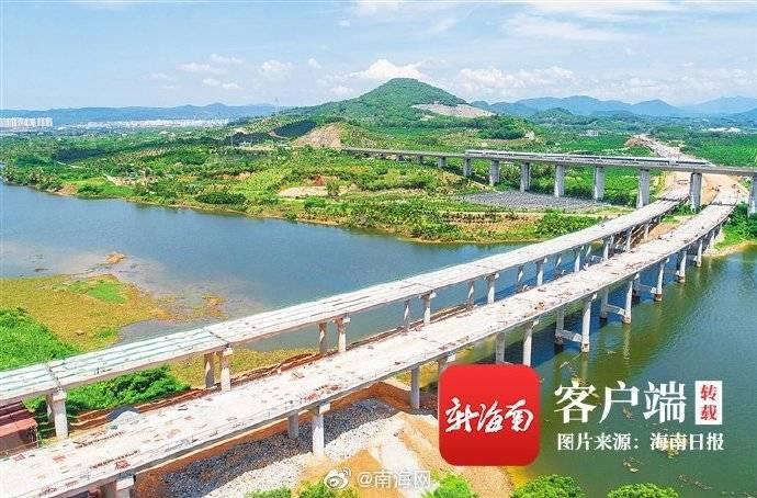山海高速三亚段预计7月底实现贯通