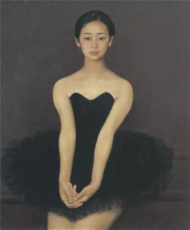 这幅极具纪念意义 被刊登在1988年划时代的《油画人体艺术大展画册