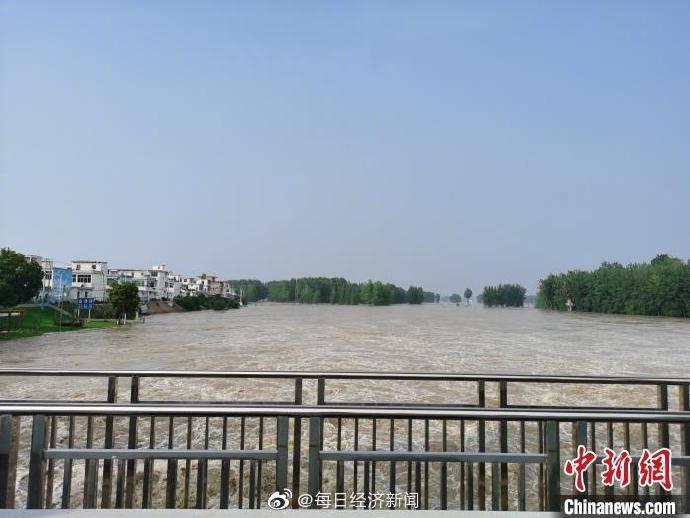 7月20日安徽223个乡镇降水量超50毫米,仍有强降水防汛压力大