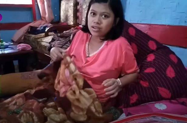 印尼女子称自己怀孕一小时就分娩