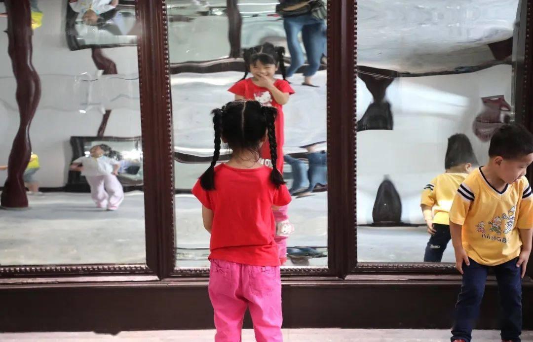 记得当年博贤公园的镜子 现在 它回来了!