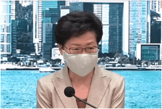康熙遗诏林郑月娥:中央支持香港抗疫,