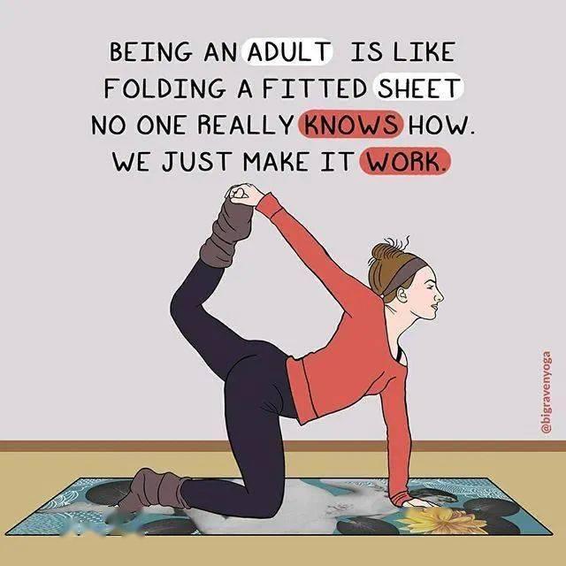 练瑜伽 1 年的感受,太真实了...