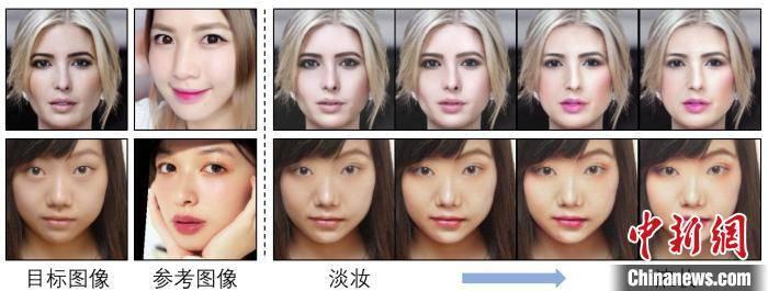 杭电学生研发自动上妆系统所拍照片可作为证件照