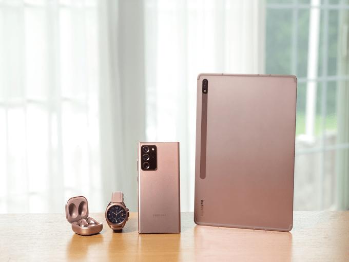不止Galaxy Note 20系列,三星发布数款硬件新品丨钛快讯