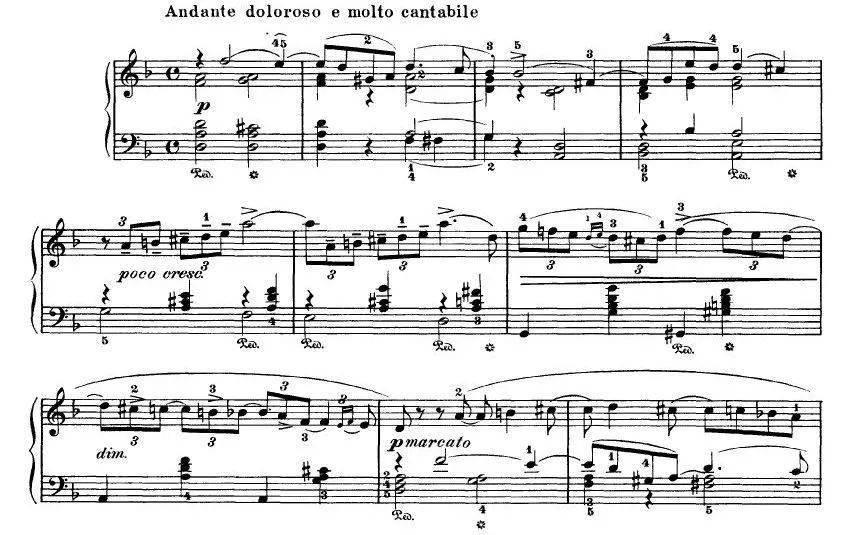 钢琴曲谱例_钢琴简单曲谱