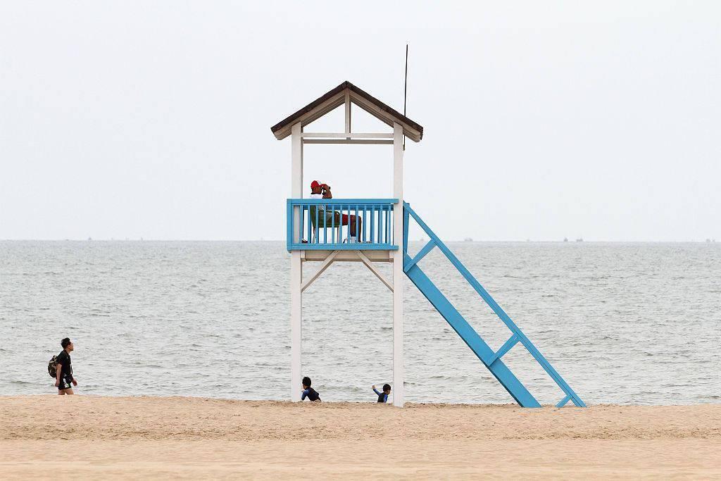 河北秦皇岛:北戴河阿那亚海滩文艺气息十足