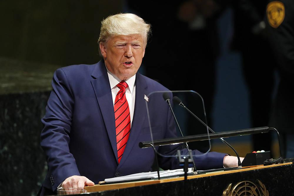 """特朗普称若自己连任成功,将""""很快""""与朝鲜达成协议"""