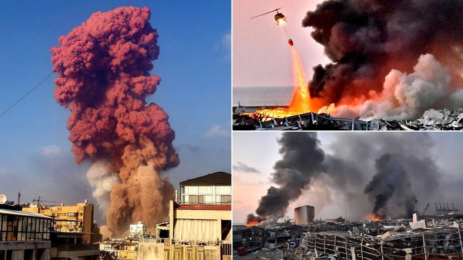 贝鲁特爆炸事件余波:黎巴嫩政府已辞职,意大利爆破专家称起因不是硝酸铵,或是军用导弹_意大利新闻_意大利中文网