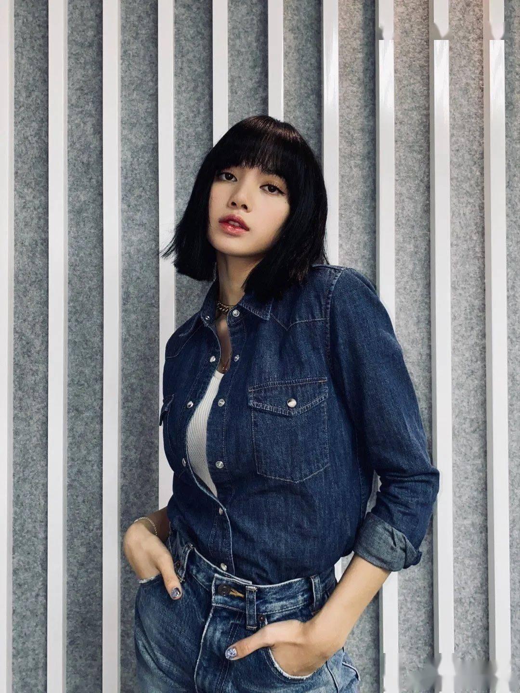 Lisa的短发让她一秒变酷,却让网友们意难平?