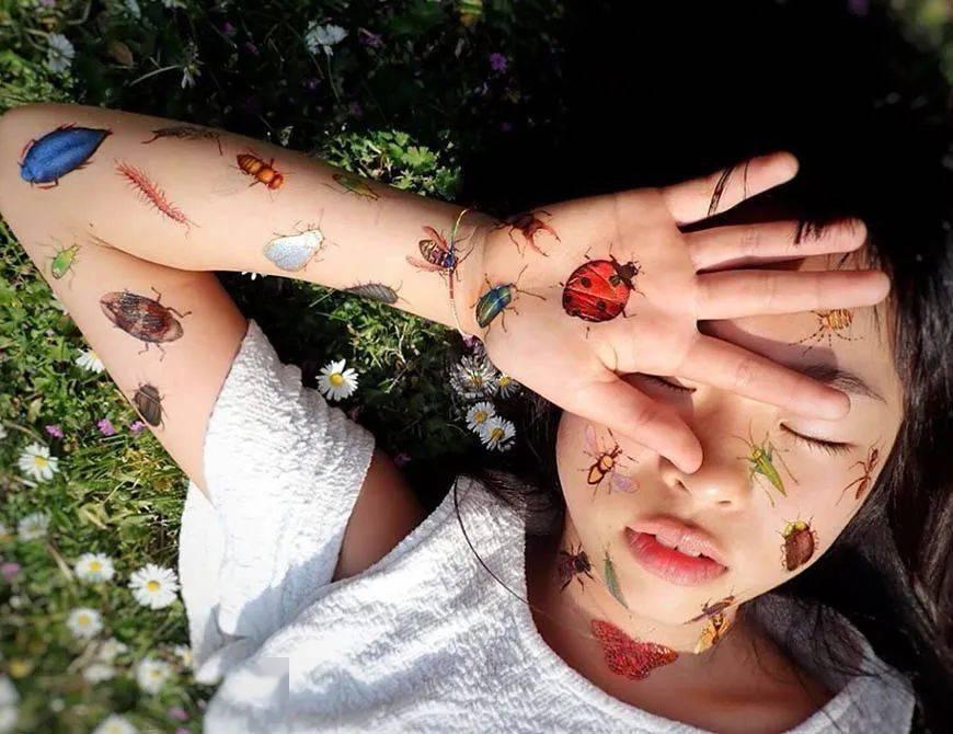 太酷了!日本女孩6岁入行,是全世界最小纹身师…看完我却只想拥有同款爸爸!插图(57)