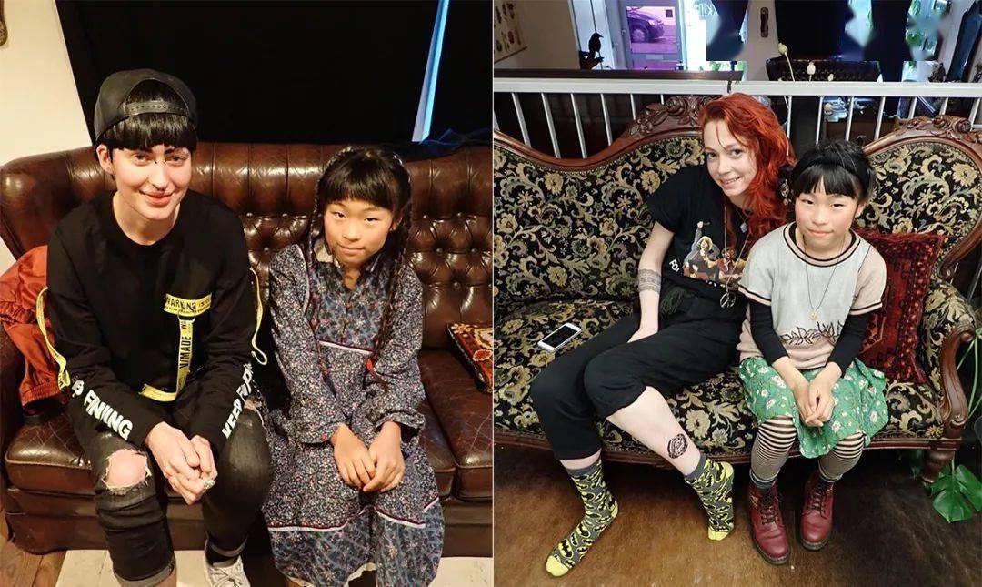 太酷了!日本女孩6岁入行,是全世界最小纹身师…看完我却只想拥有同款爸爸!插图(4)