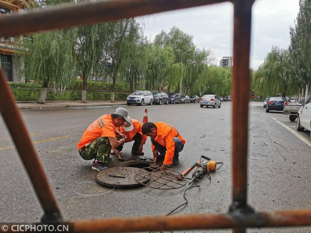 河北张家口:铁防落网帮助平息汛期 张家口铁质