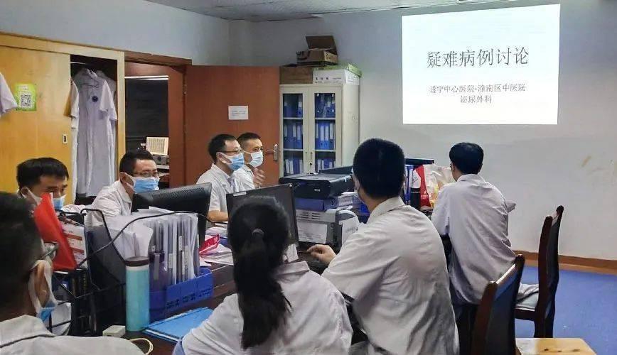 医院泌尿外科赴专科联盟医院交流指导