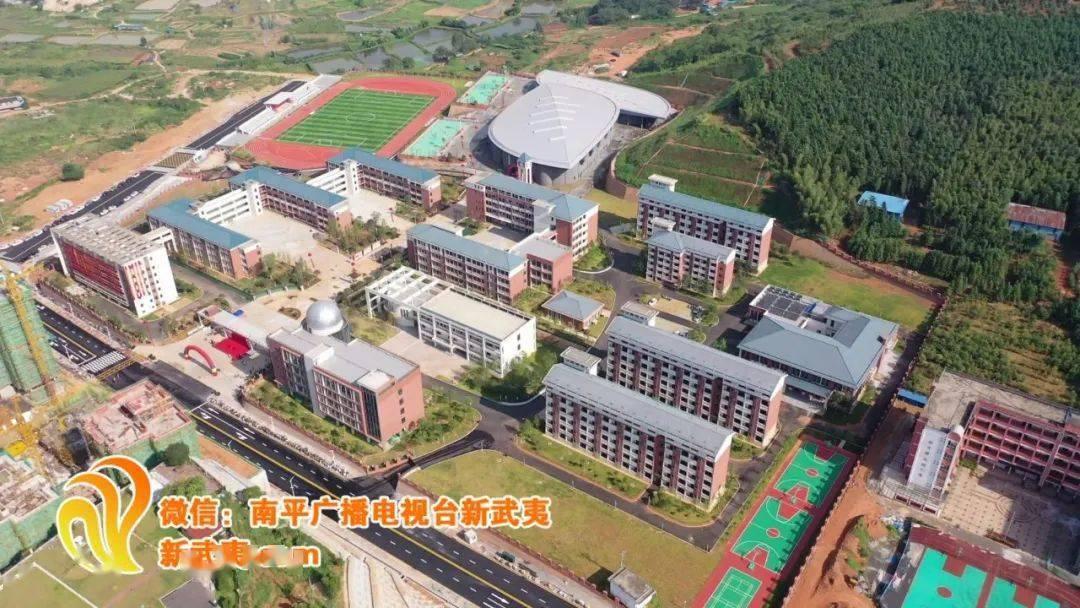 将扩大招生规模 〉建瓯第一中学新校区竣工启用