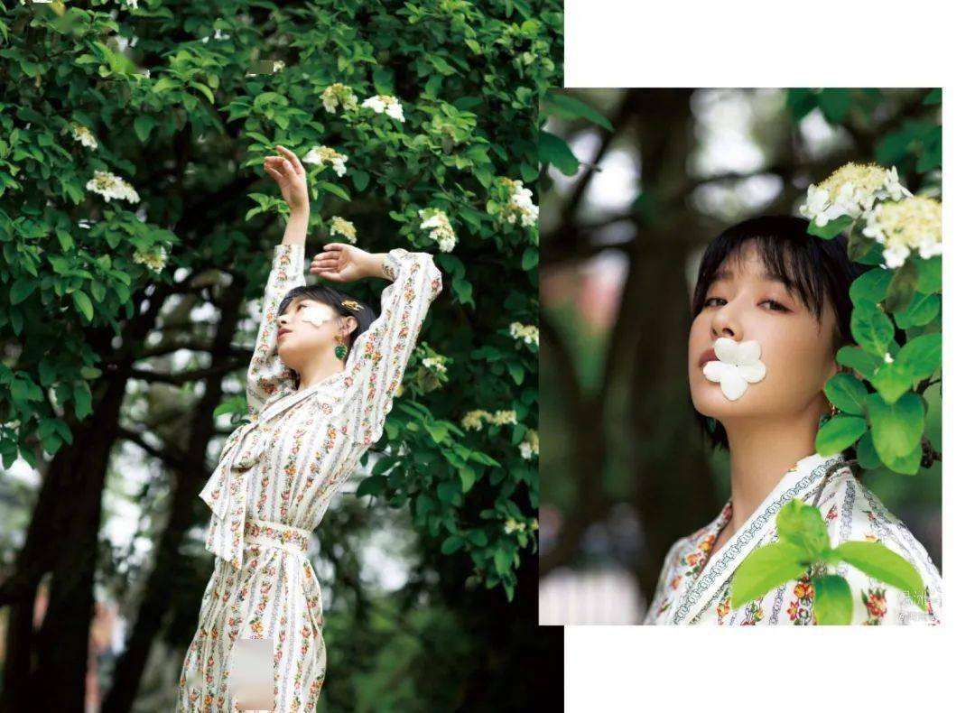 """阚清子原来是最能代表夏天的那个""""词"""",换季穿搭她替你搞定!"""