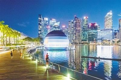 苹果|新加坡:水上苹果零售店即将开业
