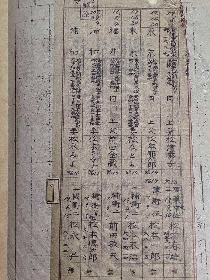日本细菌队的另一份名单已经公布,云南