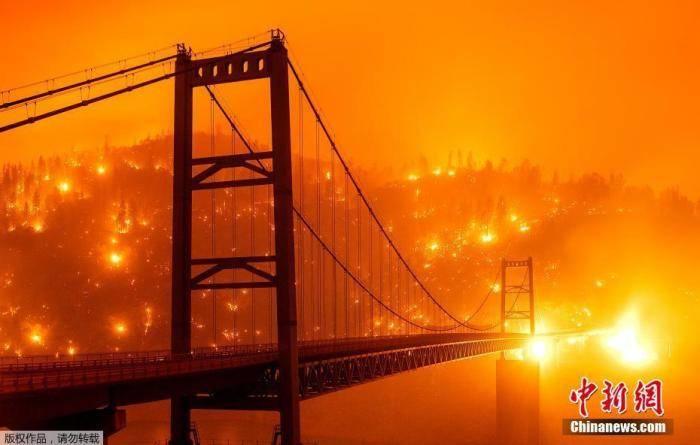 破坏程度前所未有!美国西部大火持续 已致15人死亡插图