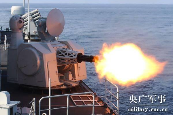 火!北部战区海军举行全天候海上攻防演练