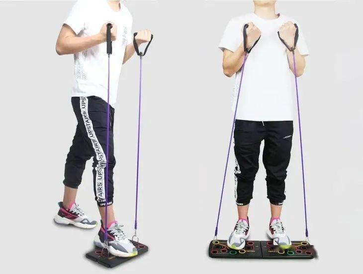 """甩掉""""中年油腻""""!1个动作、4种姿势,在家练出一身肌肉"""