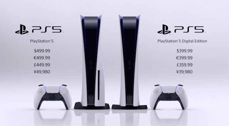 【PW早报】索尼 PS5 售价公布 399美元起