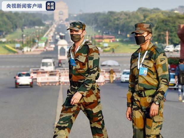 """印度确诊超500万!军队累计近2万人感染,交通部长也""""中招"""",系第7名内阁部长级官员"""