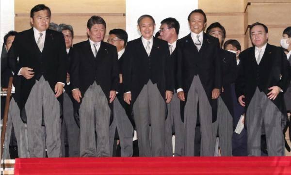 日本新一届内阁正式开工 菅义伟升职后收入曝光