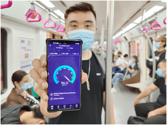 """用5G一年了 四川首位5G手机用户眼中的""""快和全"""""""