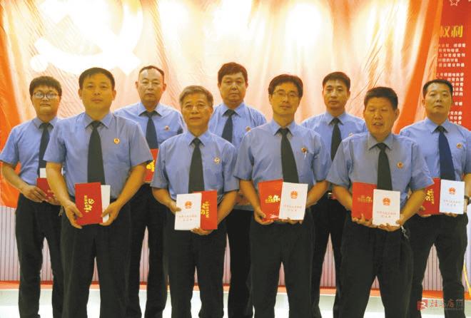 上蔡县人民检察院积极推动党建业务双融合共提升
