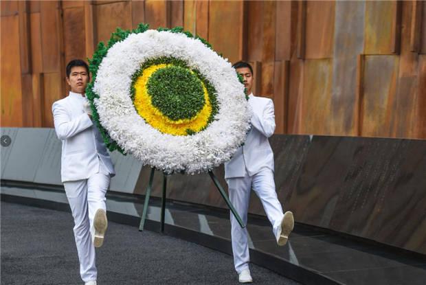 """纪念""""九一八""""事变89周年 南京举行""""不忘""""主题沉浸式演出"""