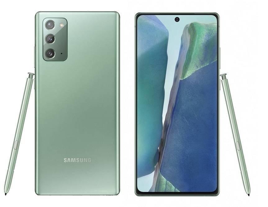 三星将在韩国为 Galaxy Note 20 推出绿色版本