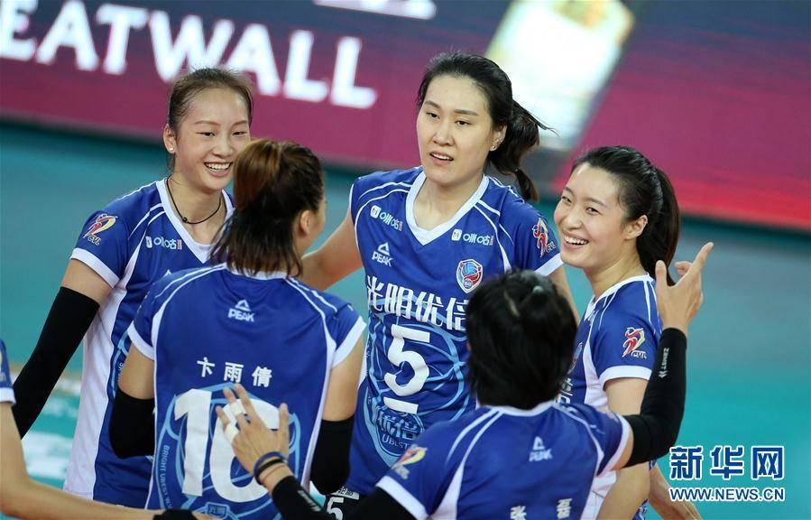全国女排锦标赛第二阶段:上海胜辽宁:OD体育(图4)