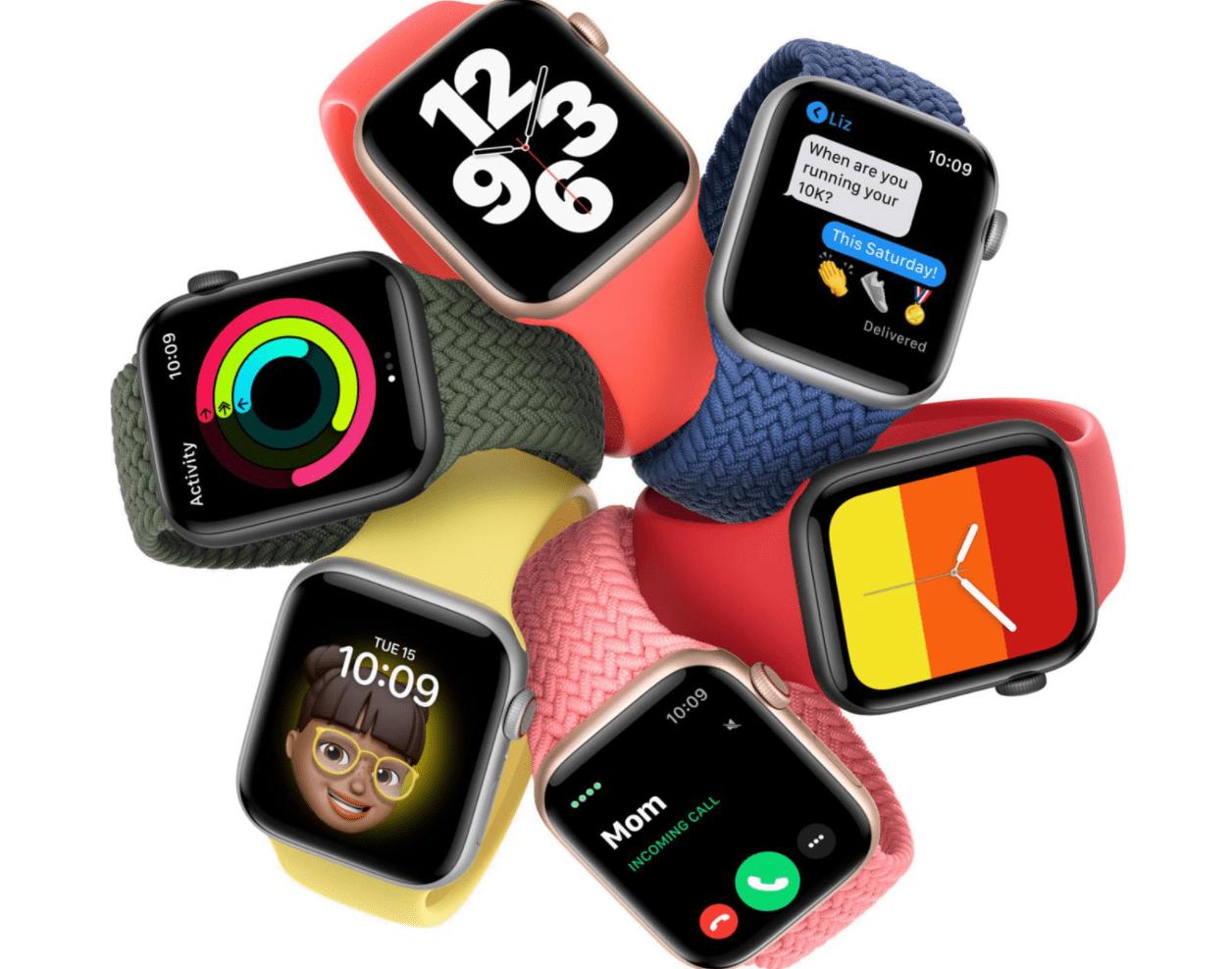 苹果发布watchOS7.0.2更新:修复电池耗电问题