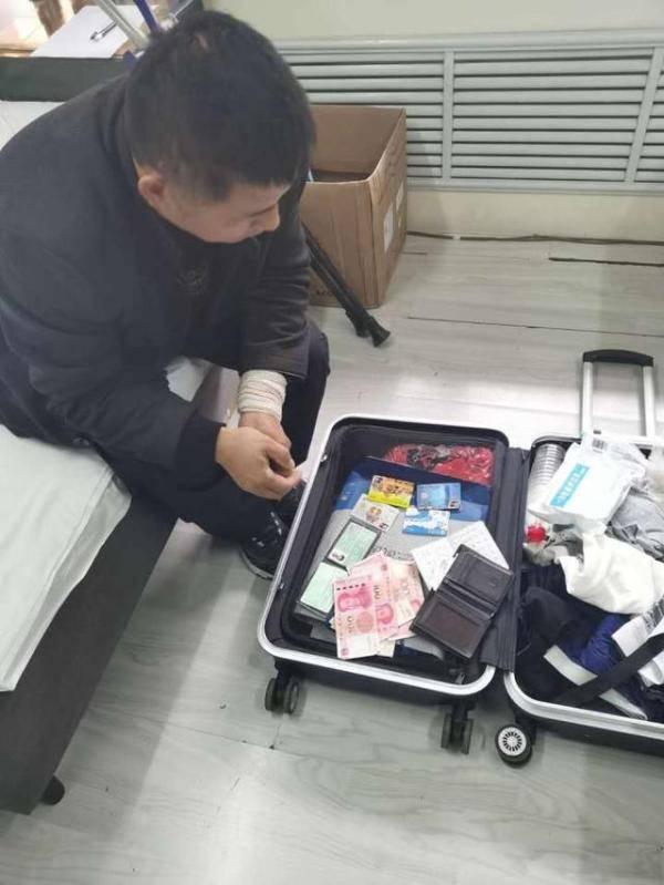 行李箱落出租车后备厢悬赏多日没找到,9天后传来好消息