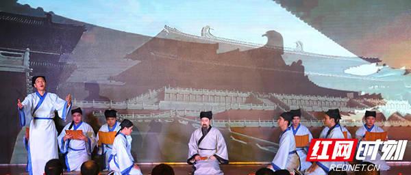 弘扬传统文化 湖南高铁职院举办经典诗文诵读大赛