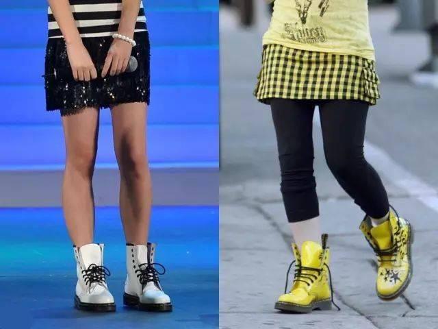 1双马丁靴=99种搭配,可盐可甜,时髦炸了!