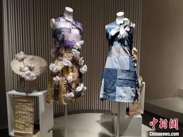 """40余件""""另类""""旗袍亮相浙江 由多国设计师制作"""