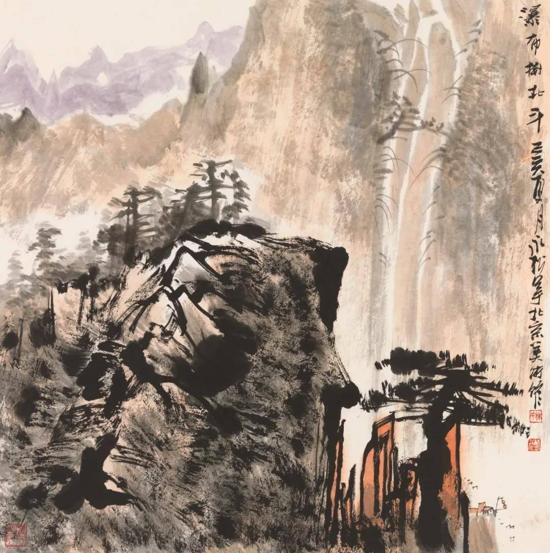 来湖南国画馆,百余幅精品带你领略林永松笔下的山水境象