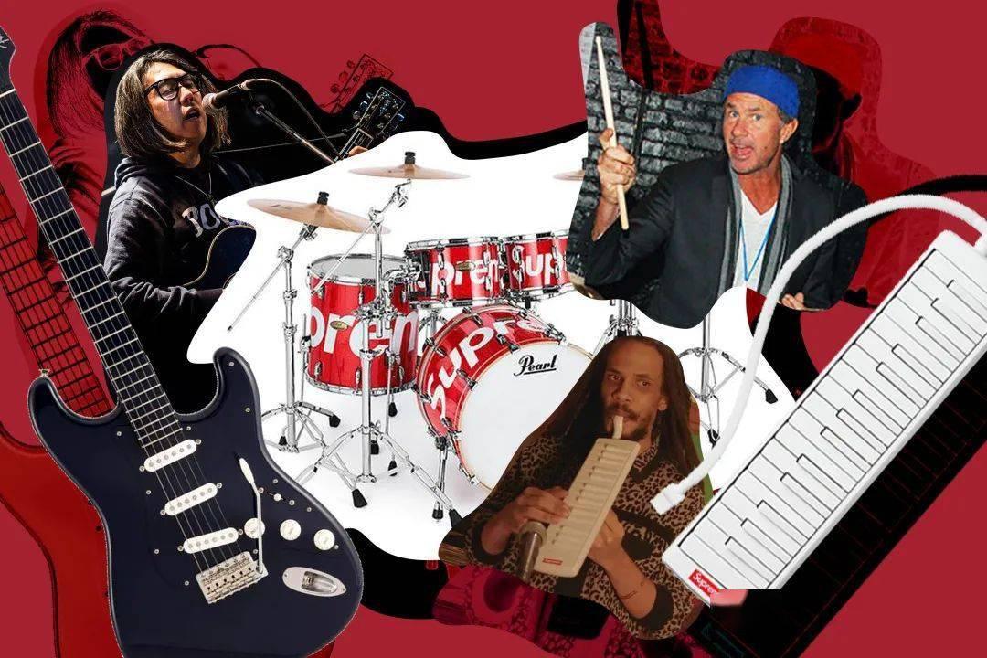 5 个与街头/时尚品牌推出的联名乐器