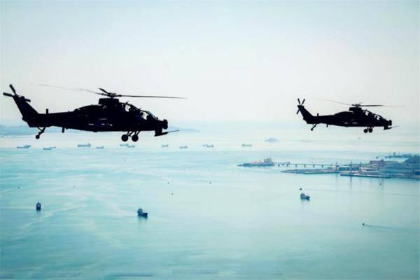 第73集团军某陆航旅从难从严突出高难课目训练     第1张