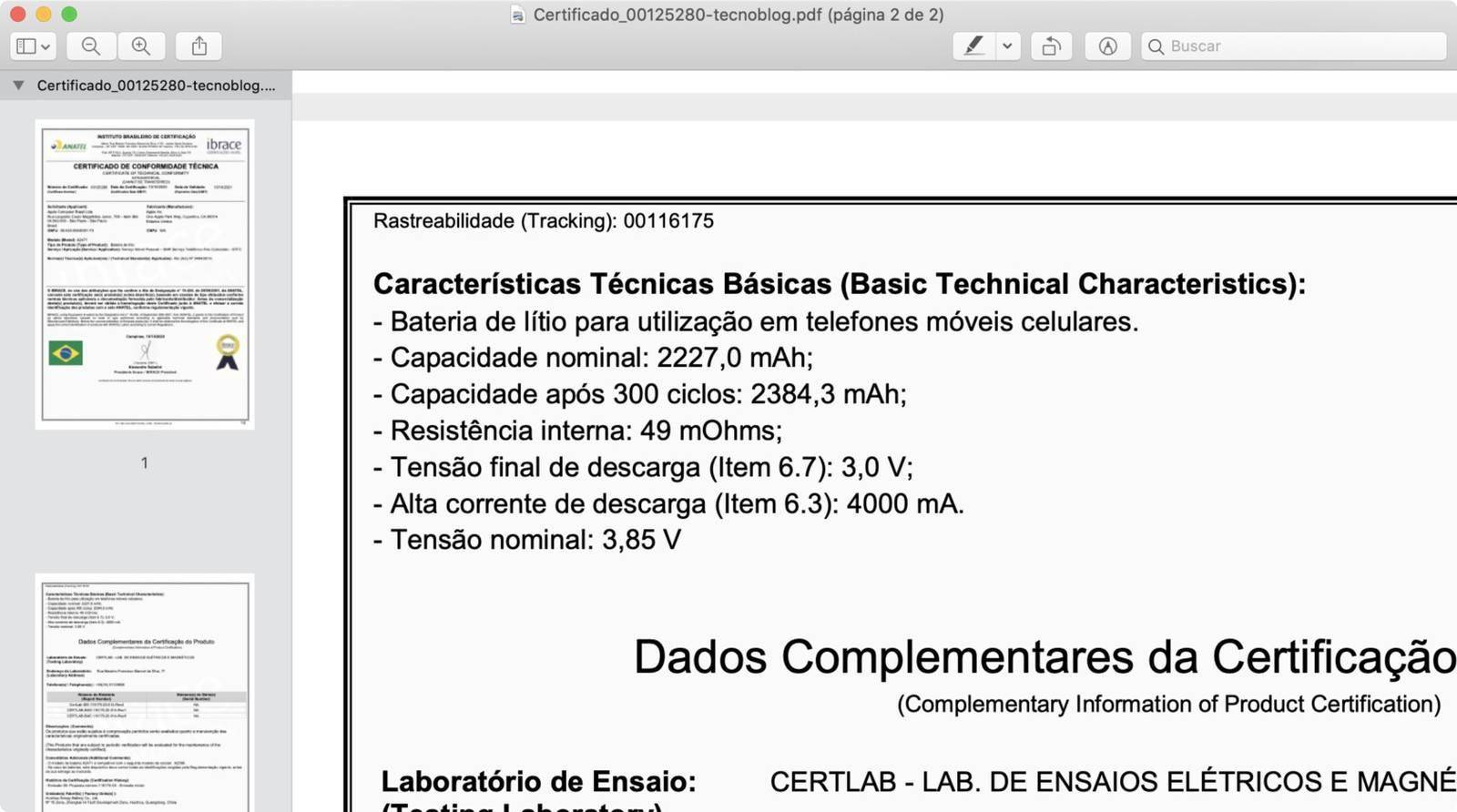 文件显示iPhone 12 mini的电池容量为2227mAh