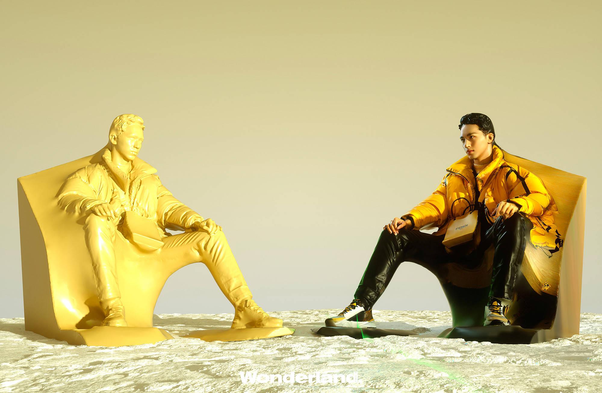 许魏洲3D雕塑造型 科技与时尚的碰撞