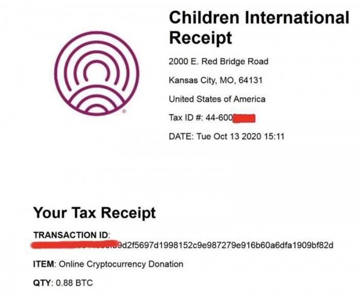现代罗宾汉?黑客组织向慈善机构捐赠价值1万美元的比特币