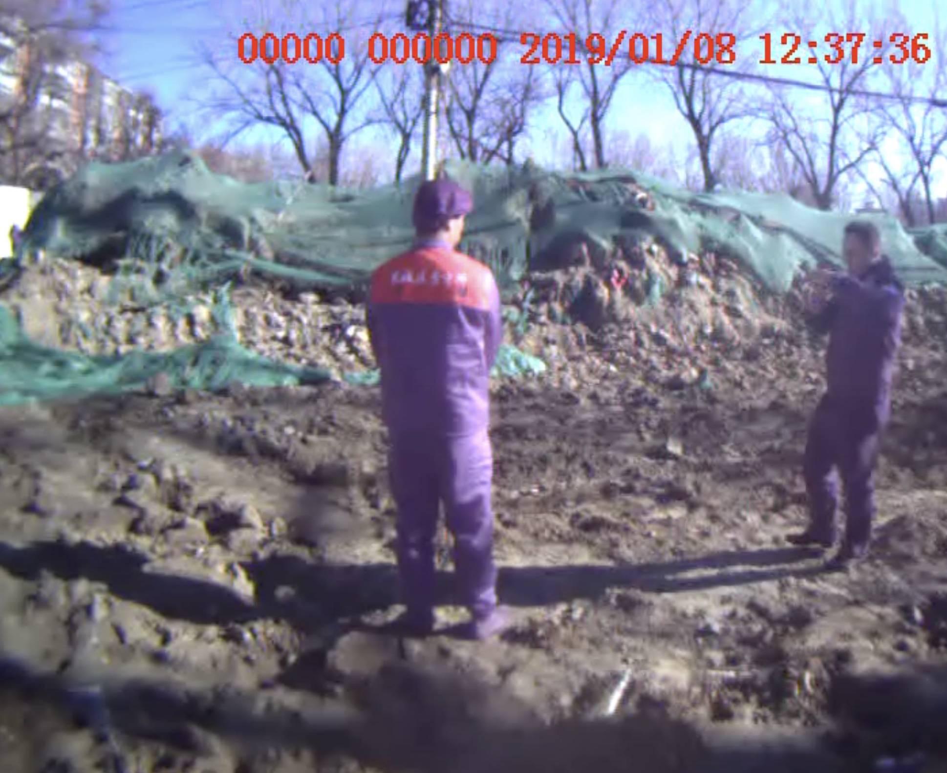 六人因在北京永外地区一工地盗墓获刑,清代棺木已被破坏