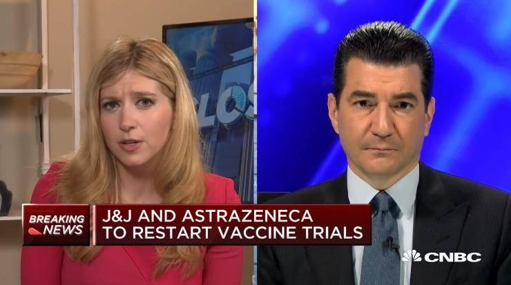 """FDA前局长:美国未来日增死亡病例数可能会""""令人震惊"""""""